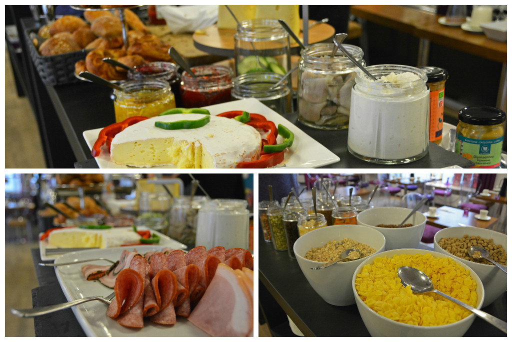 Breakfast at the Andersen Boutique Hotel in Copenhagen