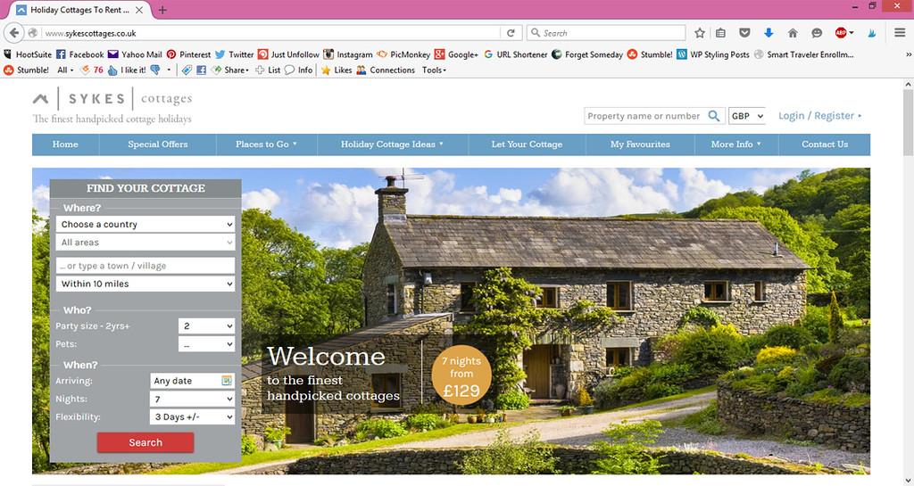 UK and Ireland Cottage Rentals